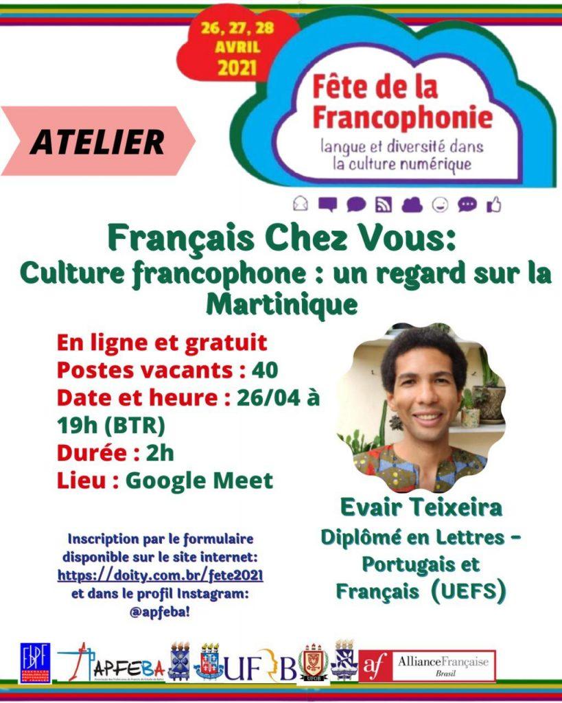 Atelier: Culture Francophone