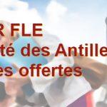 MASTER FLE -Université des Antilles- 6 bourses offertes