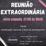 Reunião extraordinária em defesa do plurilinguismo 27/09